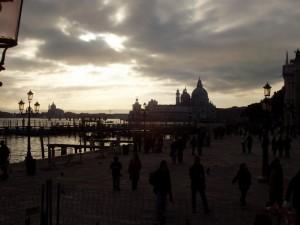 Tramonto su Venezia…