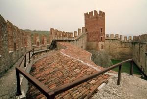 Gli spalti del Castello