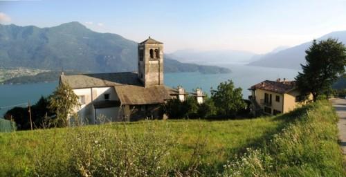 Vercana - La frazione Caino e il Lario