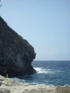 il vento sulle rocce