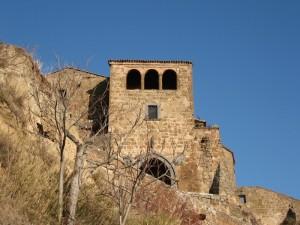 L'ingresso a Civita di Bagnoregio