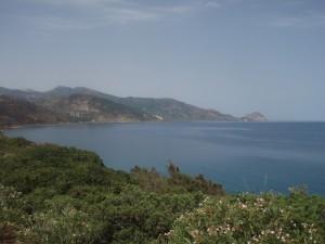 La costa dalla frazione di Finale di Pollina a Cefalù