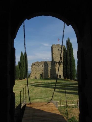 Pratovecchio - il castello di Romena