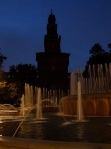 Il Castello al buio