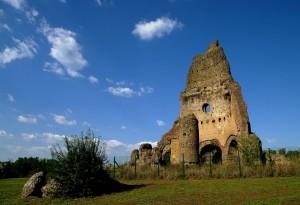 Torre di Tor de Schiavi quel che resta