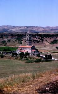 La basilica di Saccargia e la sua campagna