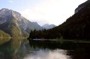 """""""mosconi"""" sul lago del Predil"""