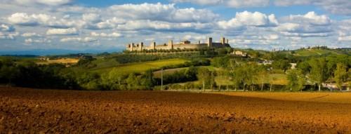 Monteriggioni - Questo si che è un panorama...