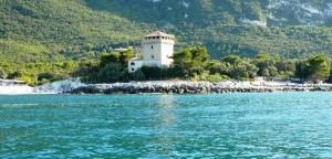 Torre di guardia a Portonovo