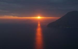 Meditazione al tramonto…