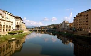 Firenze - Panorama sull'Arno