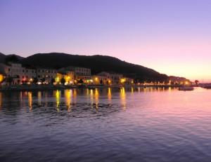 I colori del tramonto all'Isola d'Elba