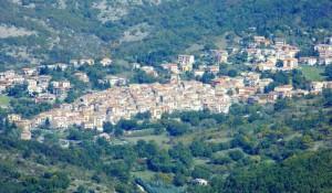 Monte Flavio fotografato dal monte Gennaro