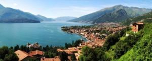 Gravedona lambita dal lago di Como