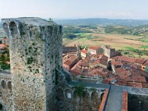 torre e panorama della città