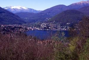 il lago di Lugano da Ardena