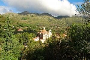 Panorama a San Martino delle Scale