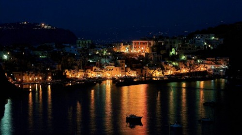 Procida - La Corricella by night