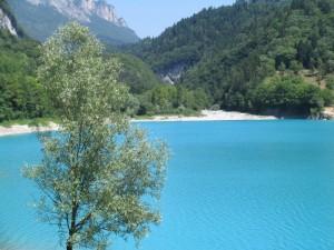 L'azzurro Lago di Tenno