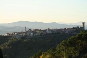 Castelnuovo Magra dalle Colline del Sole