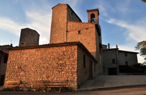 Tramonto sul Castello di Izzalini