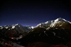 Montzeuc-Cogne in notturna