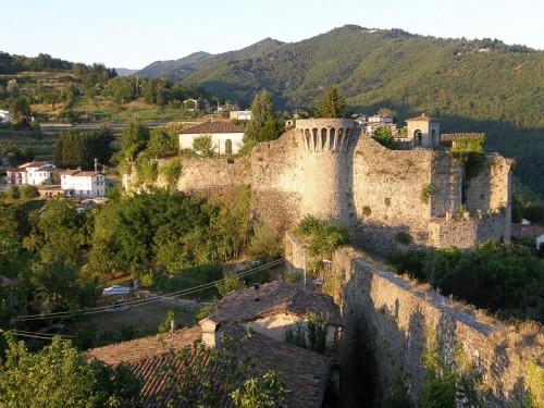Castiglione di Garfagnana - Panorama della rocca