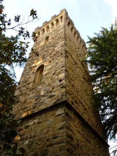 Perugia - Torre del castello dell'Oscano III°