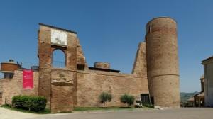 I resti del castello di Moasca (Due)