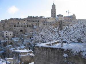 Neve sulla Civita