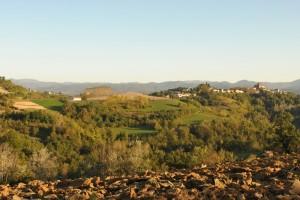 Panorama di Rocca Cigliè