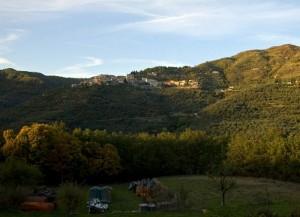 Panorama del comune di Cesio