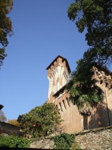 il versante a valle….del castello!