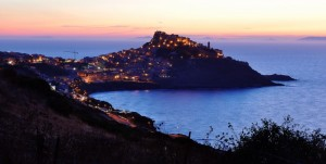 Castelsardo before the night