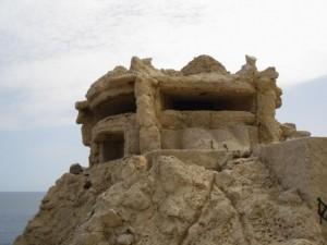 Veduta fortezza della riserva di Capogallo