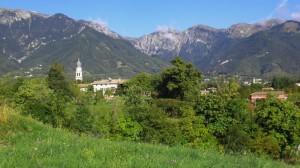 Uno sguardo verso la valle di San Liberale