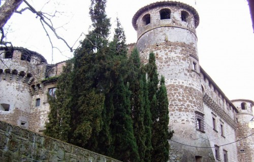 Vasanello - Castello da dietro