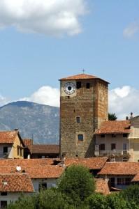 Bairo e la sua torre medioevale