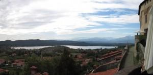 vista dal castello di Roppolo