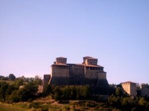 al castello di Torrechiara