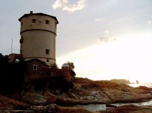 La Torre del Campese in un tramonto settembrino