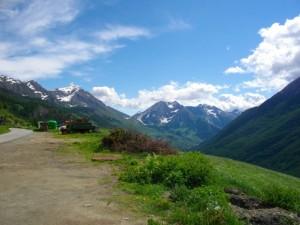 Panorama dalla Fraz. Gran Puy