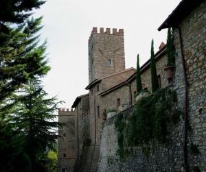 Castello di Parrano visto da dietro