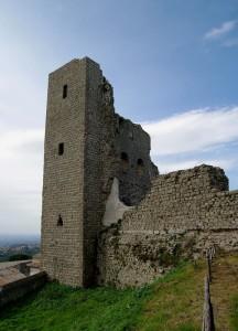 La torre della rocca dei Papi