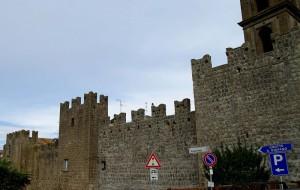 Le mura di Vitorchiano