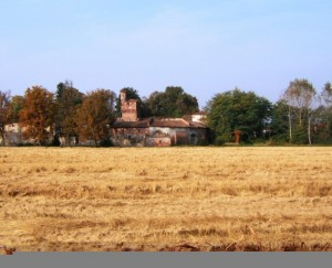 il castello e i colori dell'autunno