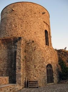 Tramonto sulla torre di Guardia