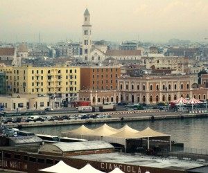 Arrivo in porto Bari
