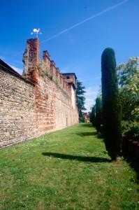 le cinta del castello di moncrivello