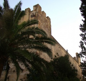 Castello di Sanluri laterale